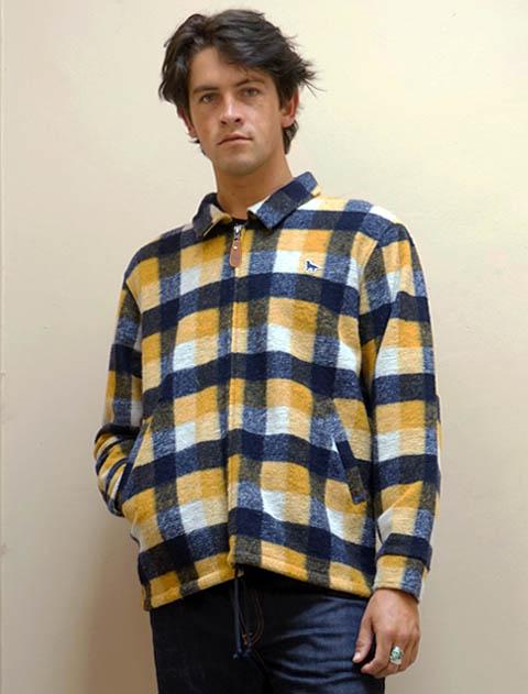 【UNISEX】スライバーシャツジャケット