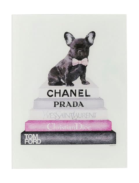 【GOODS】Picture Glass Fashion Dog