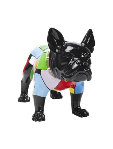 【GOODS】Deco Figurine Bulldog Colore