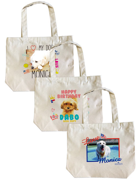【GOODS】MY DOG BAG フォト