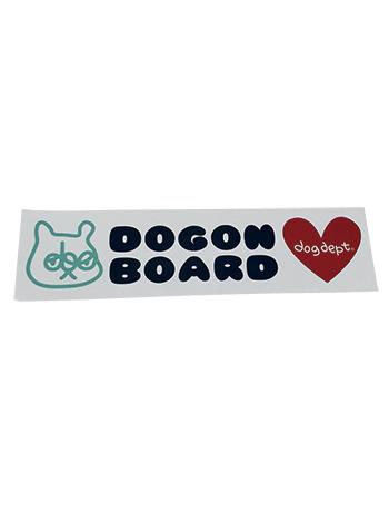 【GOODS】ドッグオンボードステッカー