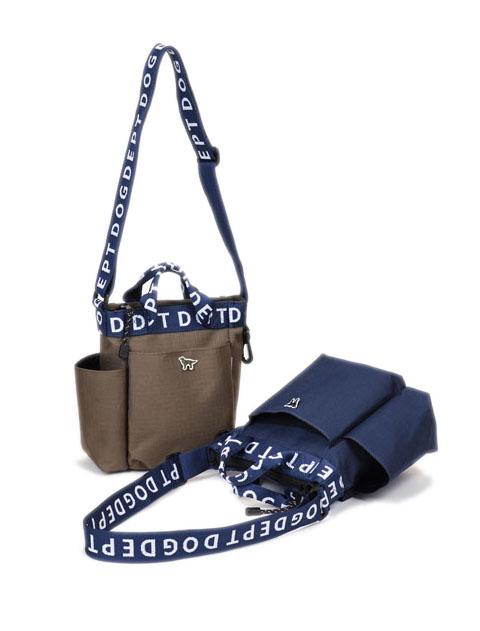 【GOODS】ロゴテープ縦型バッグ