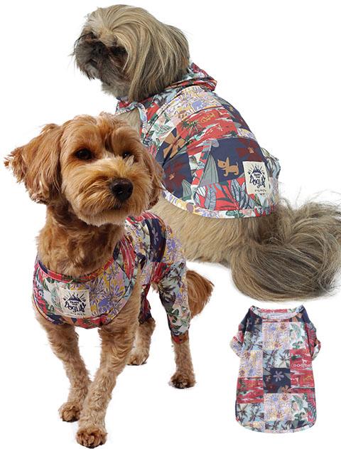 【DOG WEAR】ボタニカルクール ストレッチウェア