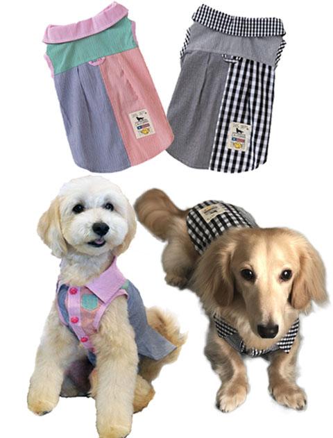 【DOG WEAR】クレイジーパターンシャツ