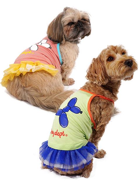 【DOG WEAR】アウトラスト チュールスカート バルーンドッグ