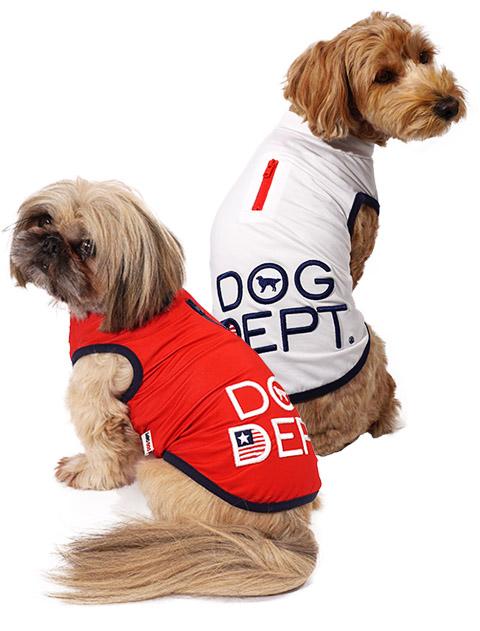 【DOG WEAR】スタンドハーフジップ