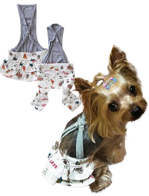 【DOG WEAR】アメリカンロゴ ボトムス