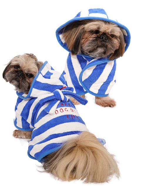 【DOG WEAR】バスローブ