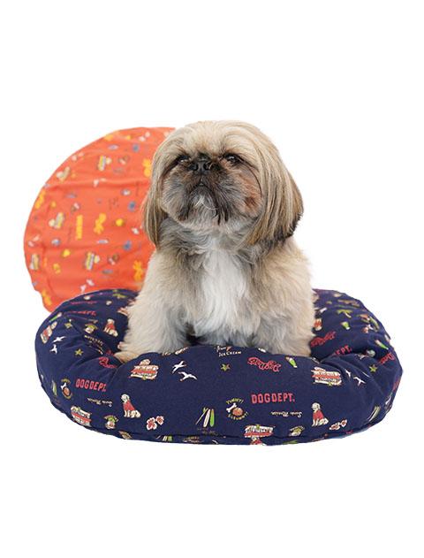 【DOG GOODS】アメリカンロゴ ベッドカバー