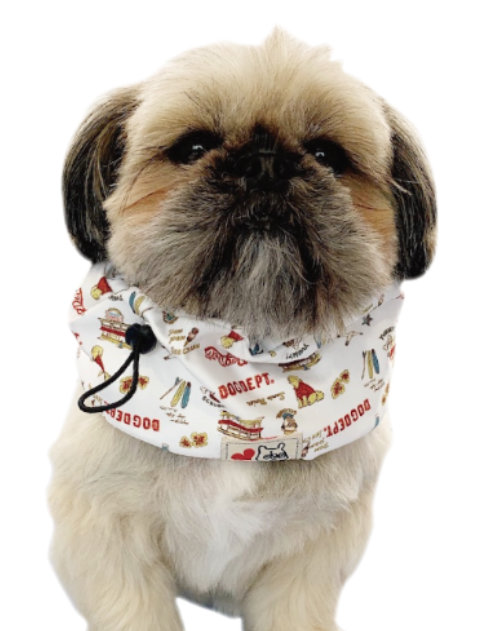 【DOG GOODS】アメリカンロゴクールネック