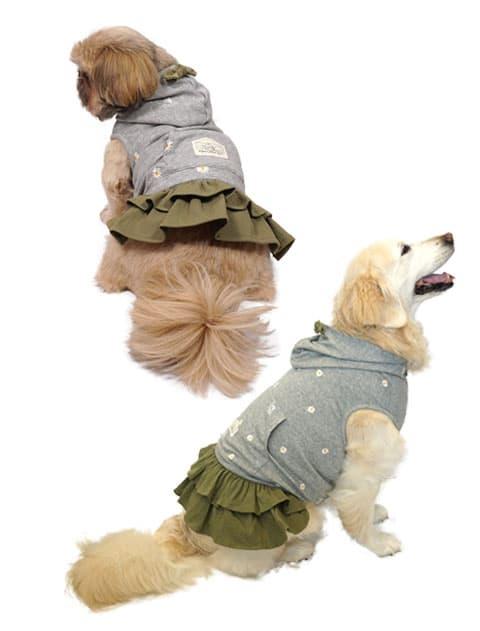 【DOG WEAR】マーガレットスウェットスカート