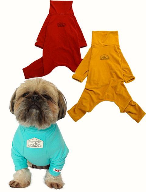 【DOG WEAR】HAPPY FAM. シグナルカラーロンパース