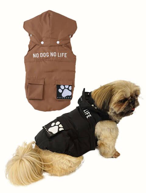 【DOG WEAR】ファイバーダウンコート