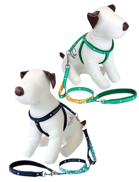 【DOG GOODS】マーガレット リード&ライトハーネスセット