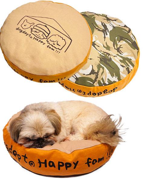 【DOG GOODS】HAPPY FAM.  ベットカバー