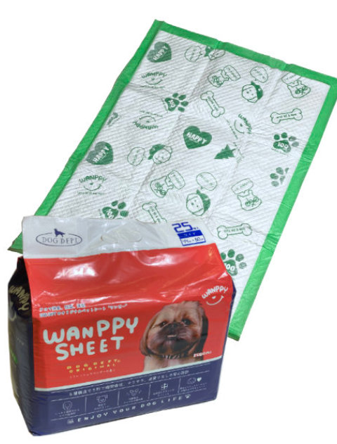 【DOG GOODS】 WAN PPY  SHEET ワイド25枚入り