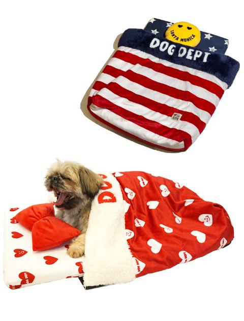 【DOG GOODS】ふわぽかベッド まくら付き