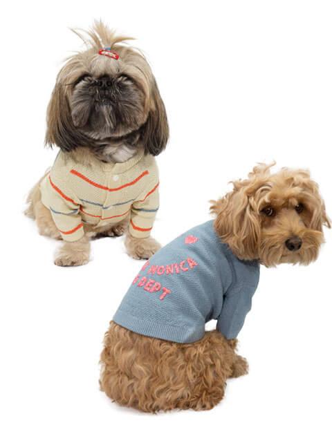 【DOG WEAR】カノコ編みニット