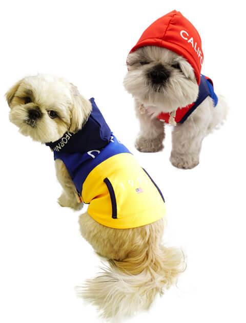 【DOG WEAR】クラシックロゴストレッチパーカー