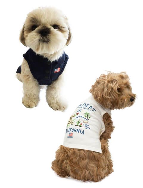 【DOG WEAR】刺繍ポロ