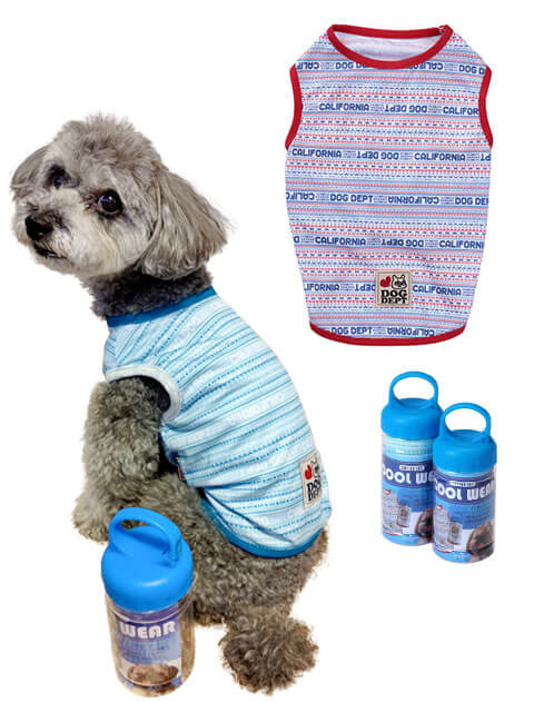 【DOG WEAR】クールタンクトップ in ボトル