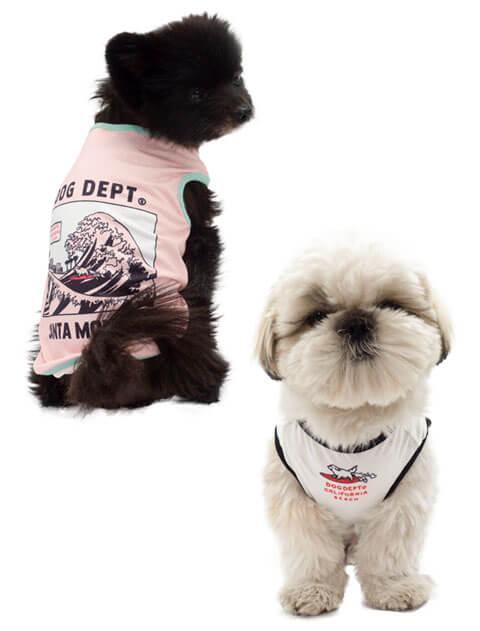 【DOG WEAR】波乗り メッシュノースリーブ