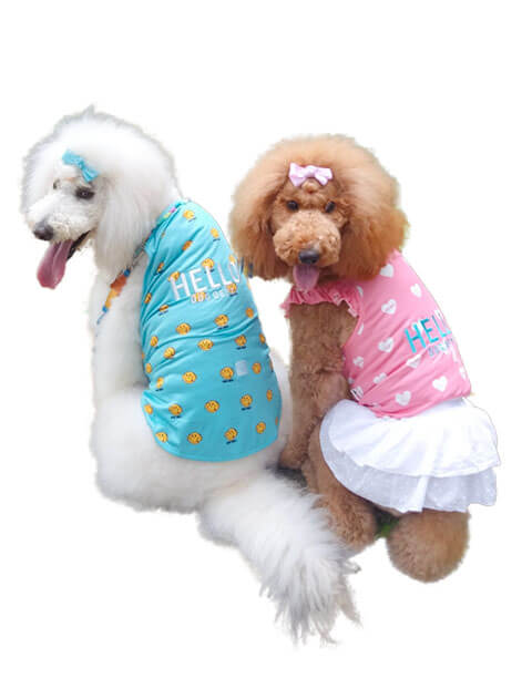 【DOG WEAR】メッシュキャミ