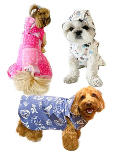 【DOG WEAR】イージーレインコート