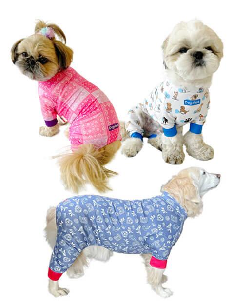 【DOG WEAR】ストレッチメッシュロンパース