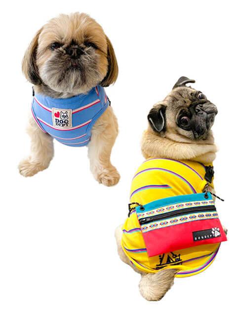 【DOG WEAR】サコッシュ付きノースリーブ