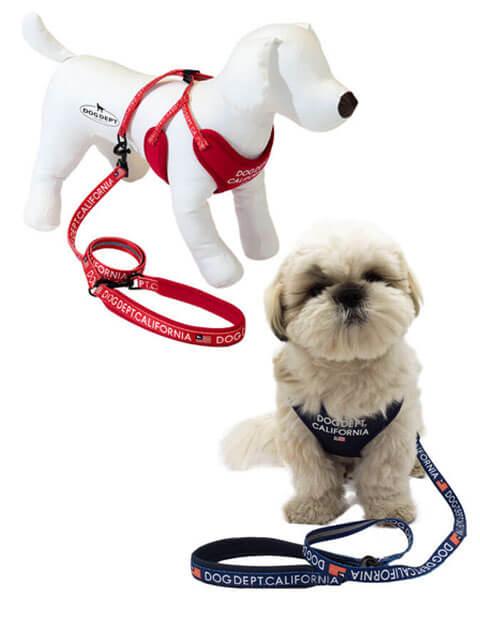 【DOG GOODS】クラシックロゴリード&ソフトハーネスセット