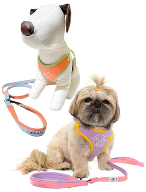 【DOG GOODS】スウェットリード&ソフトハーネスセット