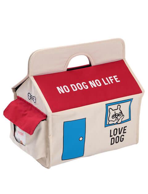 """【DOG GOODS】""""ドッグハウス""""ペットシートケース"""