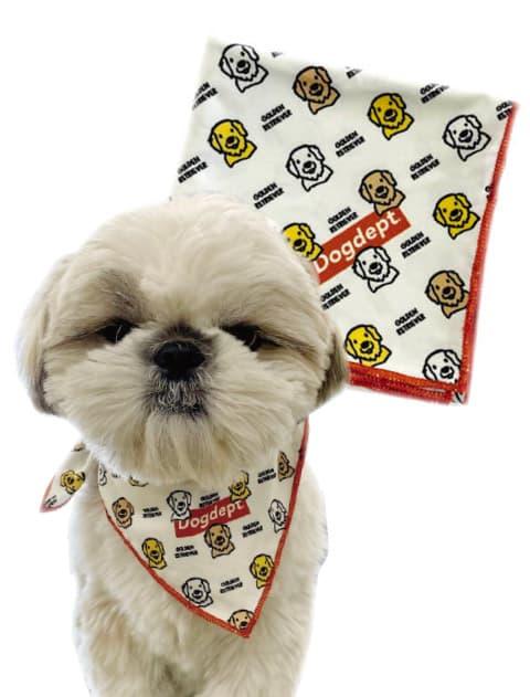 【DOG GOODS】 MY DOG バンダナ