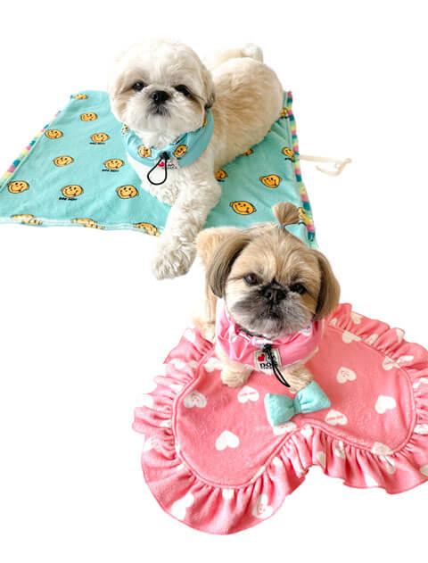 【DOG GOODS】ハート&スマイル カフェマット