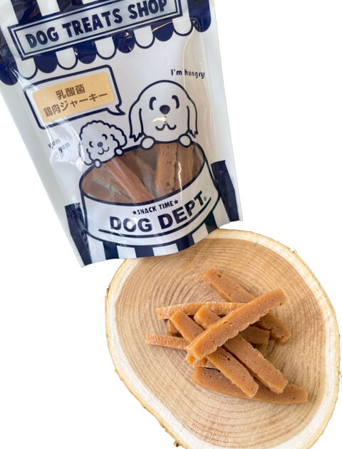 【DOG GOODS】乳酸菌スティック鶏肉ジャーキー