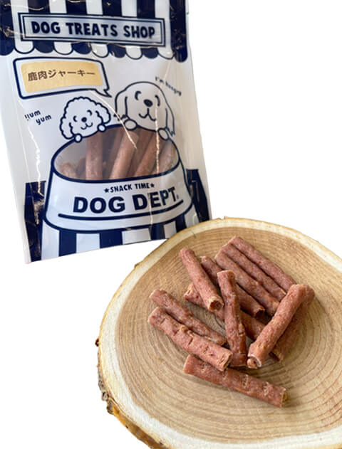【DOG GOODS】鹿肉ジャーキー