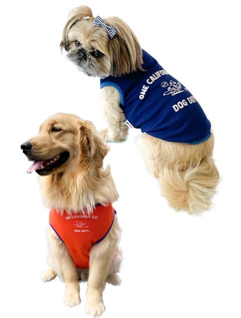【DOG WEAR】ヴィンテージプリントリバーシブルノースリーブ