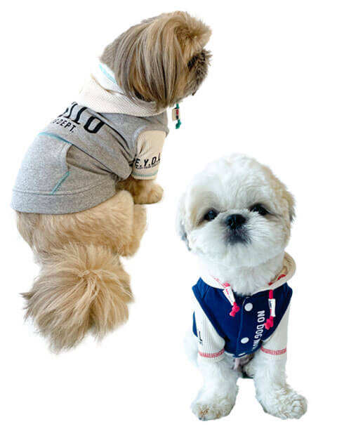 【DOG WEAR】RECOVER BLUE レイヤーパーカー