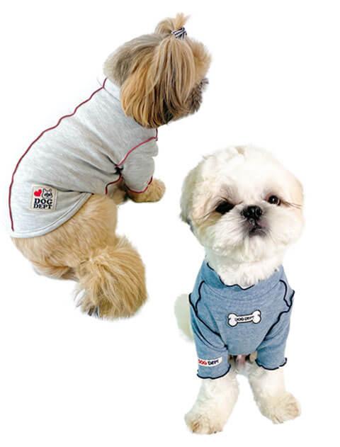 【DOG WEAR】メローハイネックTシャツ