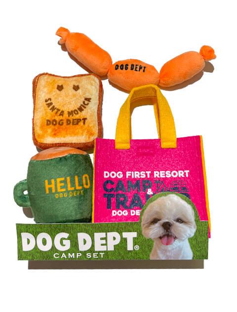 【DOG GOODS】おもちゃセット キャンプ