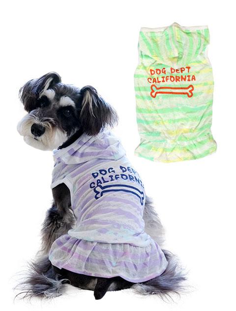 《期間限定アウトレット》【DOG WEAR】オパールボーダーワンピ