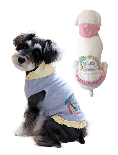 《期間限定アウトレット》【DOG WEAR】カー&レインボーパーカー