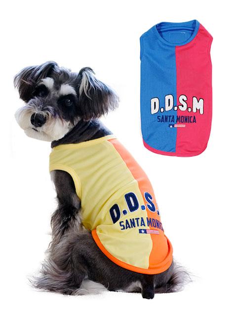 《期間限定アウトレット》【DOG WEAR】切り替えロゴノースリーブ