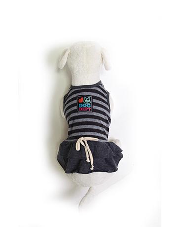 《期間限定アウトレット》【DOG WEAR】ボーダーノースリーブ
