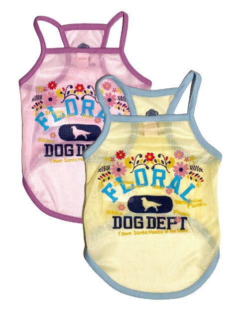 《期間限定アウトレット》【DOG WEAR】FLORALキャミ