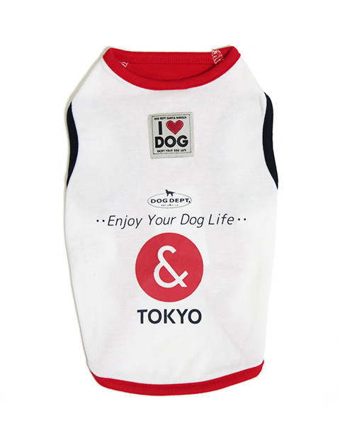 【DOG WEAR】DOG DEPT & TOKYOノースリーブ