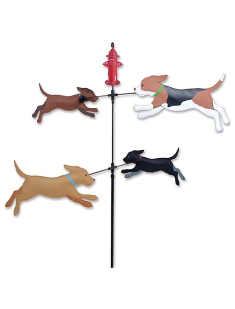 【GOODS】WindGarden Spinner Dogs 8DOGS