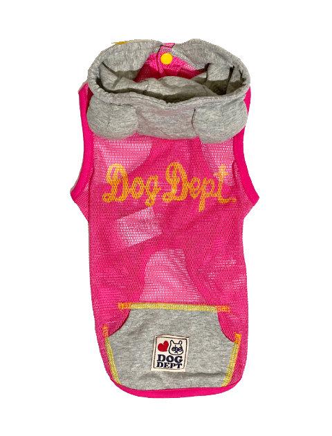 【DOG WEAR】耳付キメッシュパーカー