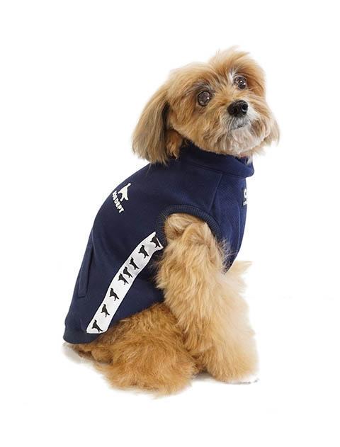 【DOG WEAR】ドッグライン バックファスナー